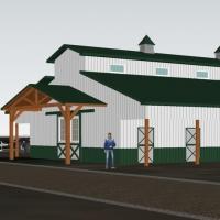 El Dorado Hills Ranch Exterior 3D