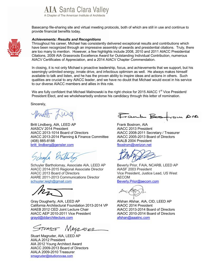 Letters of recognition malinowski aiacc nomination letterpage2 1betcityfo Gallery