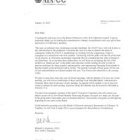 AIA CC Board of Directors Letter