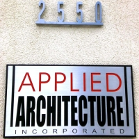 Applied Arts Signage
