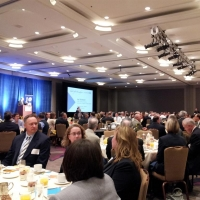 At award Ceremony for  the Regional Transit Excellence Award
