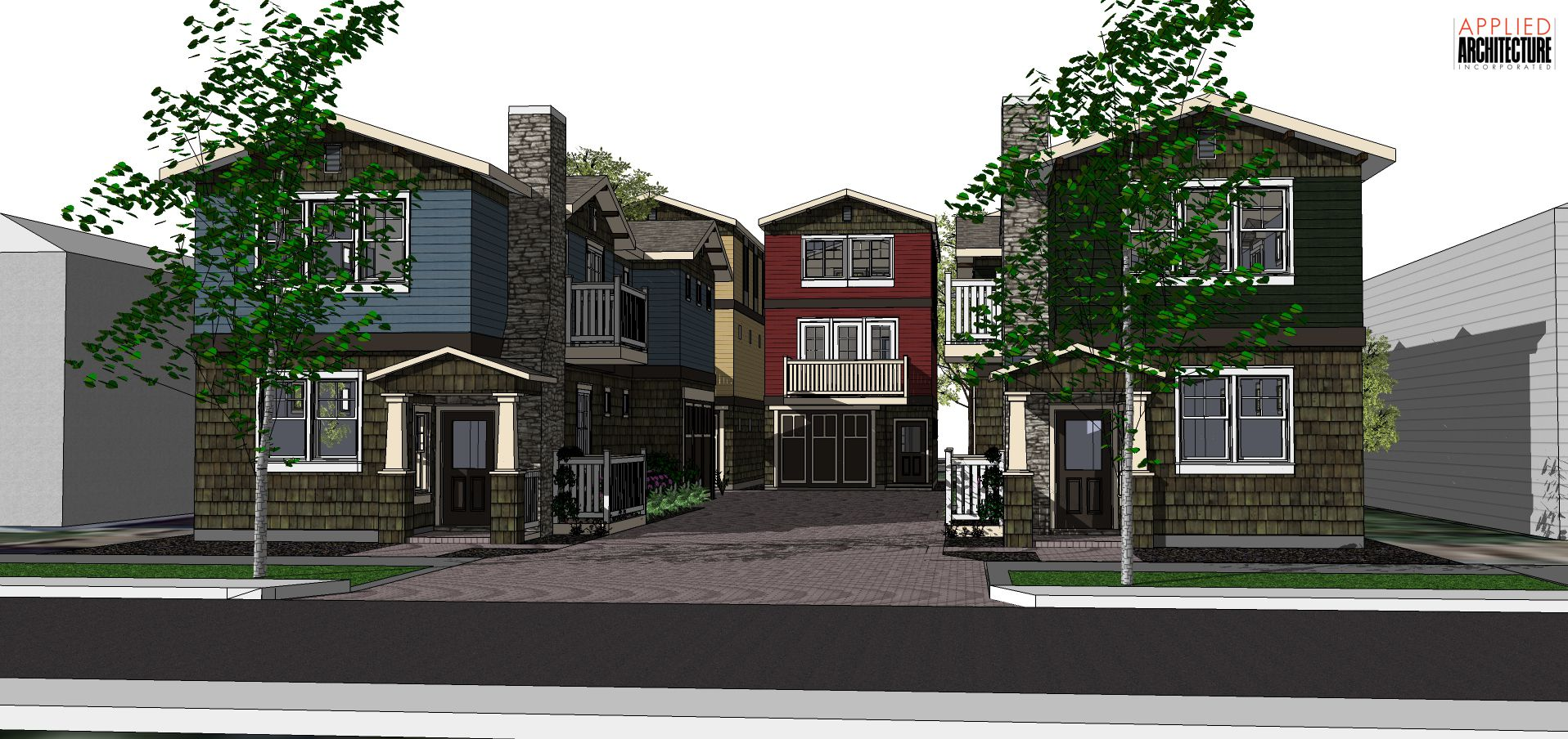 27th-Street-Courtyard-Homes-Model-Entrance